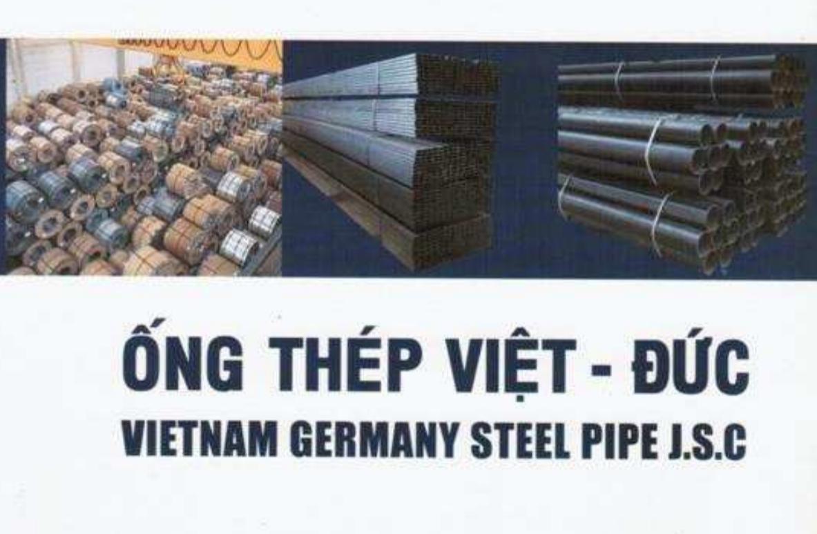 Catalog Ống thép Việt Đức