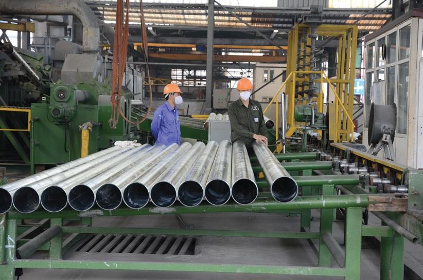 Nhà máy ống thép Hòa Phát cỡ lớn